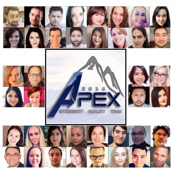 APEX Team Photo