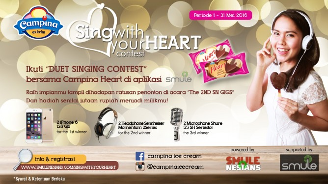 SingWithYourHeart Banner SN-2