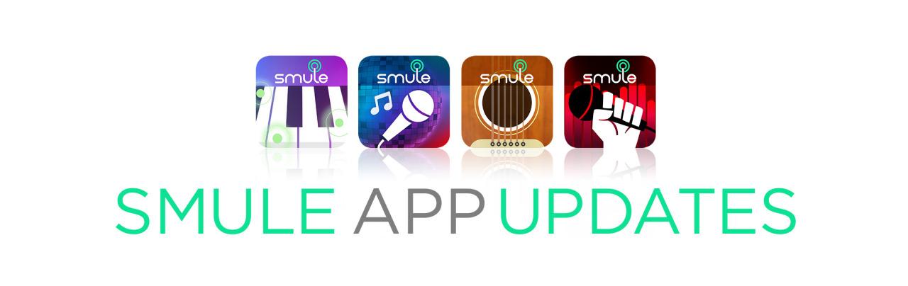 Smule App Updates!   Smule Blog